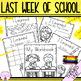 The Last Week of School Bilingual Bundle