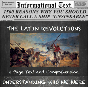 The Latin American Revolutions