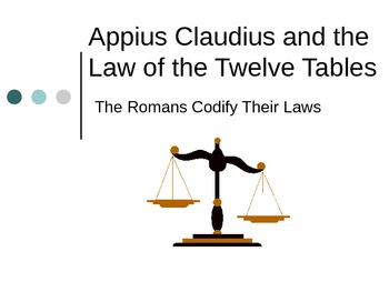 The Law of the Twelve Tables