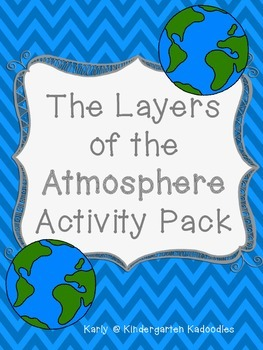 The Layers of the Atmosphere Activity Pack