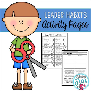 Leader Habits: Activity Pages
