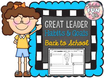 Leader Habits: Back-to-School