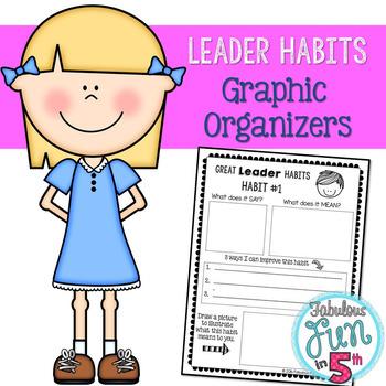 Leader Habits: Graphic Organizers