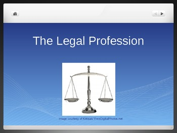 The Legal Profession, The Law and Their Depiction in the M
