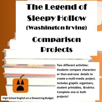 The Legend of Sleepy Hollow Comparison Projects (Washingto