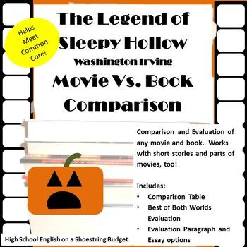 The Legend of Sleepy Hollow Movie vs Book Comparison (Wash