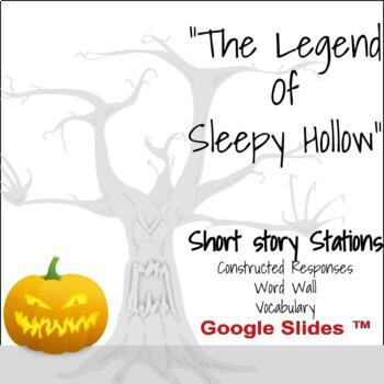 """""""The Legend of Sleepy Hollow"""": Vocabulary, Word Wall, and"""