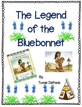The Legend of the Bluebonnet by Tomie DePaola-A Complete B
