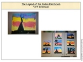 The Legend of the Indian Paintbrush Art Extension