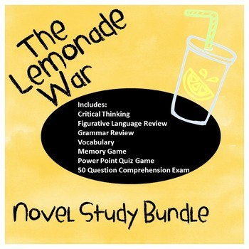 The Lemonade War Bundle