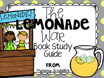 The Lemonade War Book Study, Writing Prompts, Craftivity,