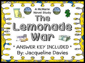 The Lemonade War (Jacqueline Davies) Novel Study / Compreh