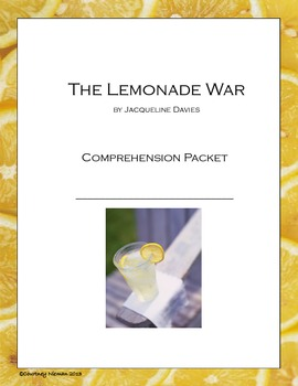 The Lemonade War Novel Guide