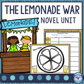 The Lemonade War - Unit Plan and Activity Guide - over 100