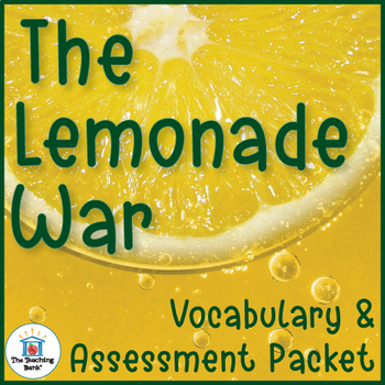 The Lemonade War Vocabulary and Assessment Bundle