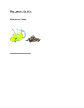 The Lemonade War by Jacqueline Davies