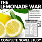 Lemonade War Novel Study Unit - Interactive Notebook Quest