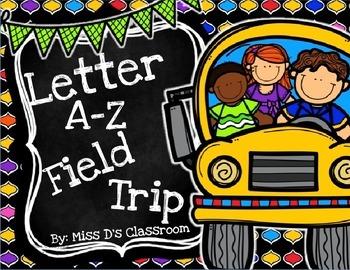 The Letter A - Z Field Trip MEGA BUNDLE! (NON-US VERSION)