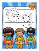 The Letter G Alphabet Superhero