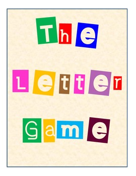 The Letter Game