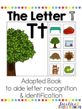 The Letter T Interactive Book