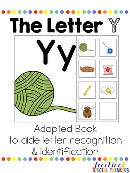 The Letter Y Interactive Book