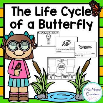 The Life Cycle of a Butterfly {printable mini book, worksh