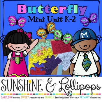 Butterfly Life Cycle Differentiated Activities & Crafts fo