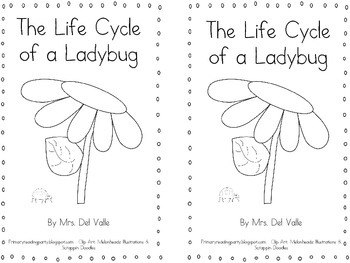 """The Life Cycle of a Ladybug"" Reader"