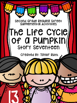 The Life Cycle of a Pumpkin Supplemental Activities (Readi