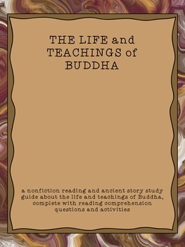 The Life and Teachings of Buddha: CCSS reading, writing, c