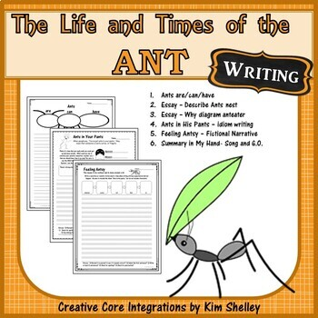 The Life and Times of The Ant Journeys 14 WRITING