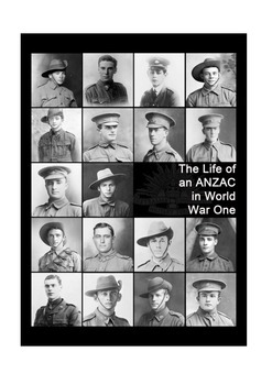 The Life of an ANZAC soldier in World War One Student Assignment