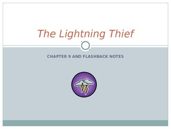 The Lightening Thief Chapter 9 Notes