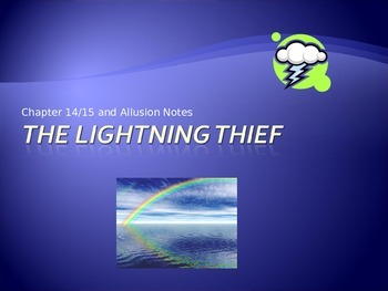 The Lightening Thief Chapters 14 and 15 Notes