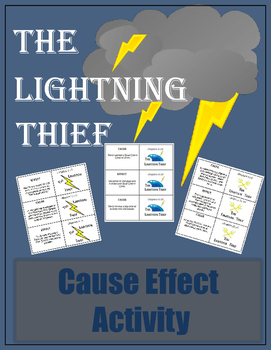 The Lightning Thief - Cause and Effect