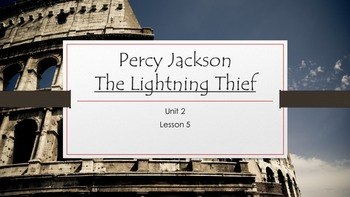 The Lightning Thief- Percy Jackson- ELA-Vate Utah- Module