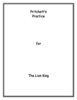 The Lion King Archetype Lesson Plan & Study Guide