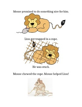 The Lion & The Mouse - Adapted Text
