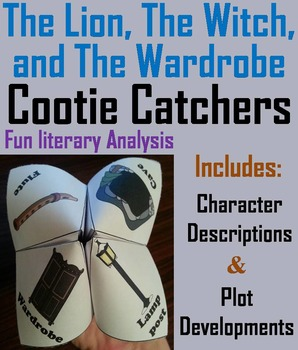 The Lion, The Witch, and The Wardrobe Activity (Scoot Unit