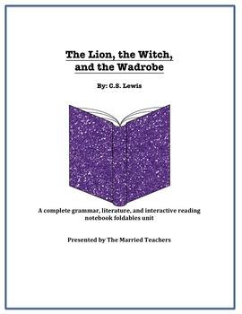The Lion, Witch, and Wardrobe Literature, Grammar, & Inter