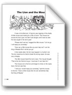 The Lion and the Mouse (Lexile 420)