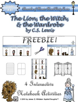 The Lion, the Witch, and the Wardrobe Interactive Notebook