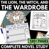 Lion, the Witch, and the Wardrobe Novel Study Unit with Qu