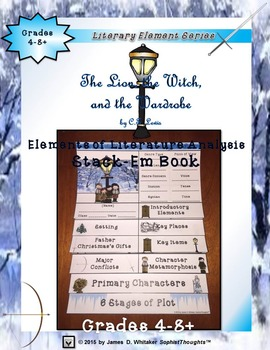 The Lion, the Witch, and the Wardrobe Narnia Interactive Stack-Em