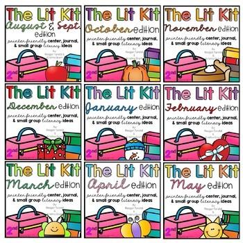The Second Grade Lit Kit Growing Bundle