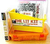 The Lit Kit labels for binders and bins