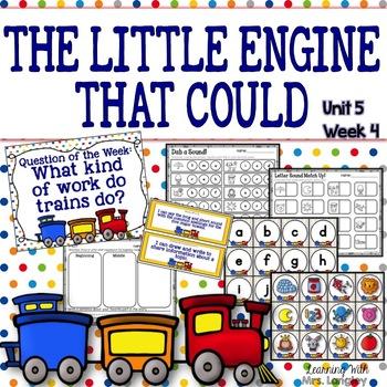 The Little Engine That Could KINDERGARTEN Unit 5 Week 4