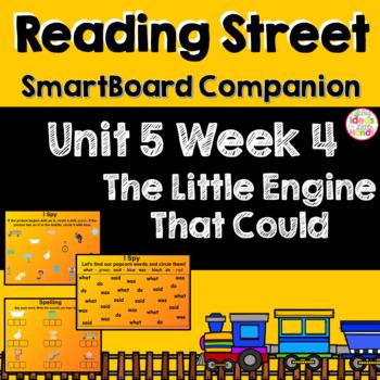 The Little Engine That Could SmartBoard Companion Kindergarten