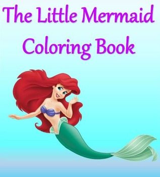 The Little Mermaid Coloring Book FREE
